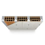 Protezione solaio in latero - cemento SUPALUX-S 12 mm - REI 240