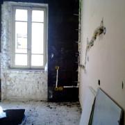 Isolamento a cappotto interno con sughero BlackCork, ristrutturazione abitazione privata Ancona anno 2010/2011